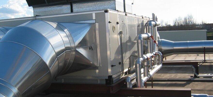Realizujeme i robustní řešení klimatizací a vzduchotechniky